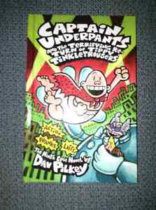 Captain Underpants books for sale