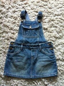 Gap Girl's Jean Jumper Skirt(18-24m)