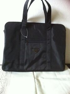 New black laptop bag