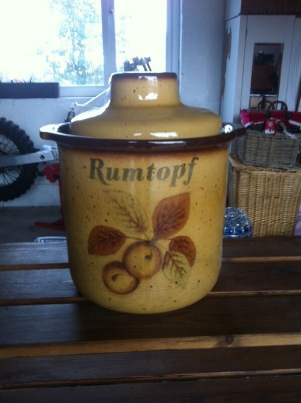 Rumtopf potin Torquay, DevonGumtree - Like new condition and a good size, may deliver depending on location