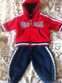 0-3 months Lonsdale track suit