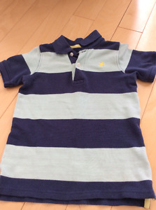Carters size 5 polo shirt