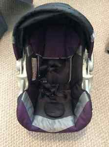 Bucket Car Seat, base and stroller