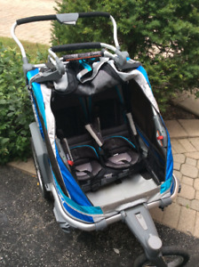 Thule Chariot Chinook 2 stroller/bike trailer