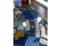 Glass fish bowl 30L