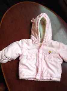 *DISNEY* WINNIE THE POOH Girl's Winter Coat (SIZE 3/ 6 mos)