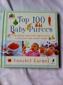 Baby food cook books