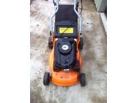 Petrol lawnmower as new