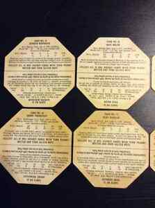 1963-64 York Peanut Butter Whiteback Hockey  Disks Kitchener / Waterloo Kitchener Area image 5