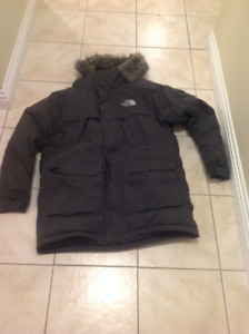 Very warm North Face jacket in great shape