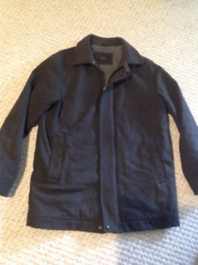Men's Lacoste Stunning 3/4 wool jacket Size L Excellent quality