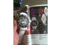 Ice chronograph watch brand new all hands move 100m water resistant