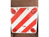Fiamma carry bike rear signal board, Free to collect
