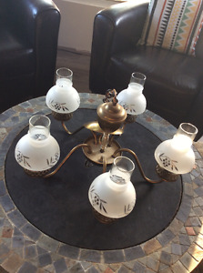 Used Ceiling Light - 5 sconces