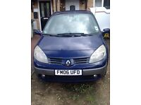 06 blue Renault scenic turbo diesel