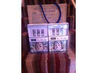 2x sets of Yankee burners plus free bag