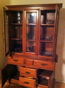 Antique China Hutch and a Corner cabinet