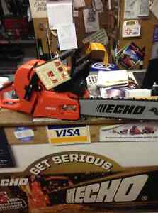 For Sale Echo Timber Wolf 60 cc chainsaws with 18 in $499 Peterborough Peterborough Area image 2