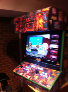 "BARTOP ARCADE 32"""" CUSTOM  10 , 000 GAMES 20 EXTRA GAME SYSTEMS"