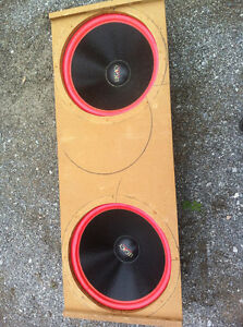 rare one of a kind 18 inch pyramid legacy subwoofer pair Kawartha Lakes Peterborough Area image 3