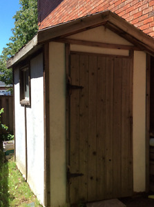 Storage Shed for free