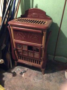 McClary antique cast iron gas stove
