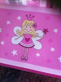 """Kids wallpaper border """"little fairy border"""""""