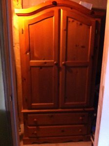 2-door Armoire with 2 drawers
