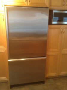 STAINLESS STEEL FRIDGE - STOVE - RANGE HOOD and DISHWASHER