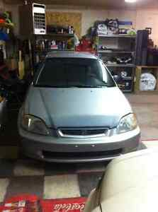 1997 Honda Civic CX Hatchback 5-Speed... Edmonton Edmonton Area image 2