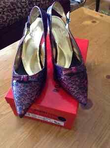 Jewel Python Dress Shoes 12WW.......New!!