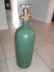Brand New 20 CF Oxygen Welding Cylinder - $130