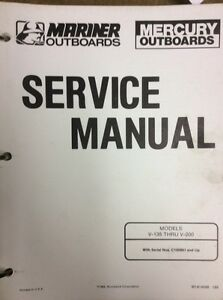 V-135 THRU V-200 SHOP MANUAL