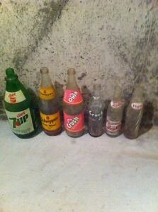 Old Pop Bottles
