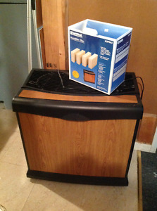 Humidifier, new filters