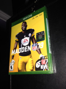 Madden 19 for X-Box One (New Unopend)