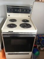 Apartment size stove $40
