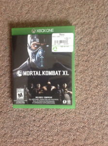 Mortal Kombat XL for XBOX ONE only played once