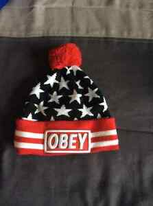*BRAND NEW OBEY SNAPBACK AND TOQUE*