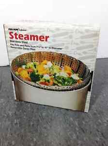 Fox Run Stainless Steel Steamer BRAND NEW