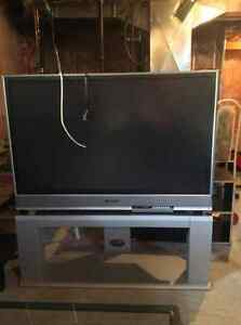 Panasonic floor model 52 inch tv