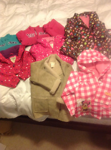 Girls Size 3/3X Spring & Fall Jackets For Sale