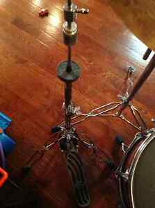 Gibraltar hi- hat stand, snare stand and bass kick pedal.