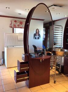Ameublement salon de coiffure