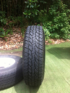 4 Maxxis Bravo A/T  Tyres and steel wheels Roseville Chase Ku-ring-gai Area Preview