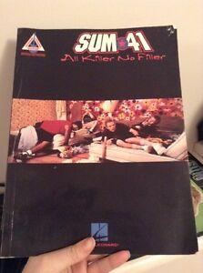 Sum 41 guitar tab books