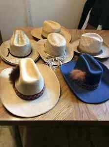 VARIOUS COWBOY HATS FOR SALE