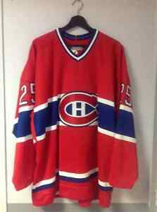 Authentic Montreal Canadiens jersey
