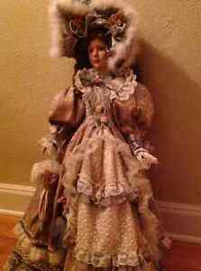 Antique looking collectable doll Gatineau Ottawa / Gatineau Area image 1
