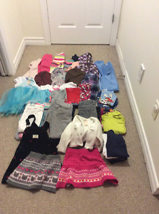 Girl clothing 5T lot
